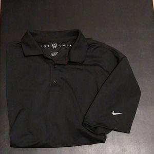Nike's Golf shirts dri fit